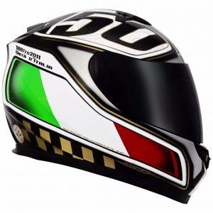mt blade full face motorbike helmet italian