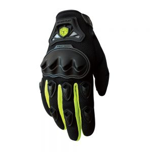 mc29 scoyco motorbike gloves green