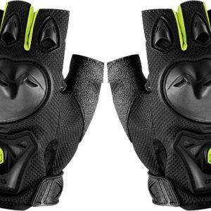 mc29d half finger scoyco motorbike gloves green