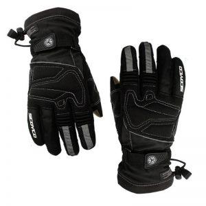 mc30 scoyco motorbike gloves black