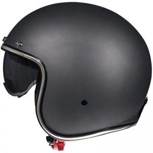 mt le mans sv jet open motorbike helmet black