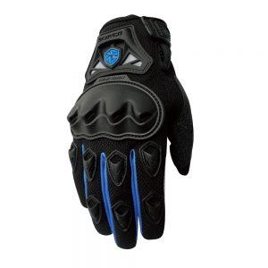 mc29 scoyco motorbike gloves blue