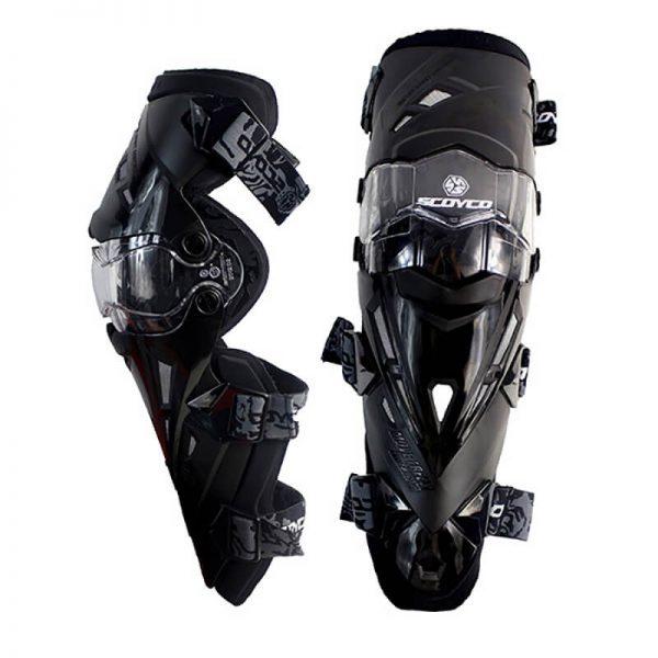 k12 scoyco leg protectors black