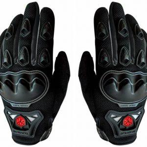 mc29 scoyco motorbike gloves black