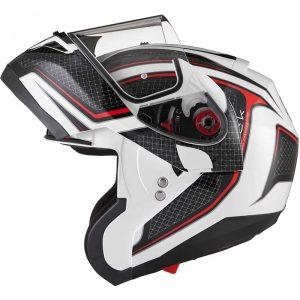 mt optimus flip up motorbike helmet