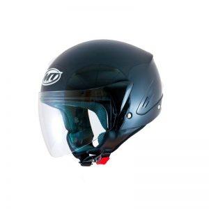 mt ventus jet open face motorbike helmet gloss black